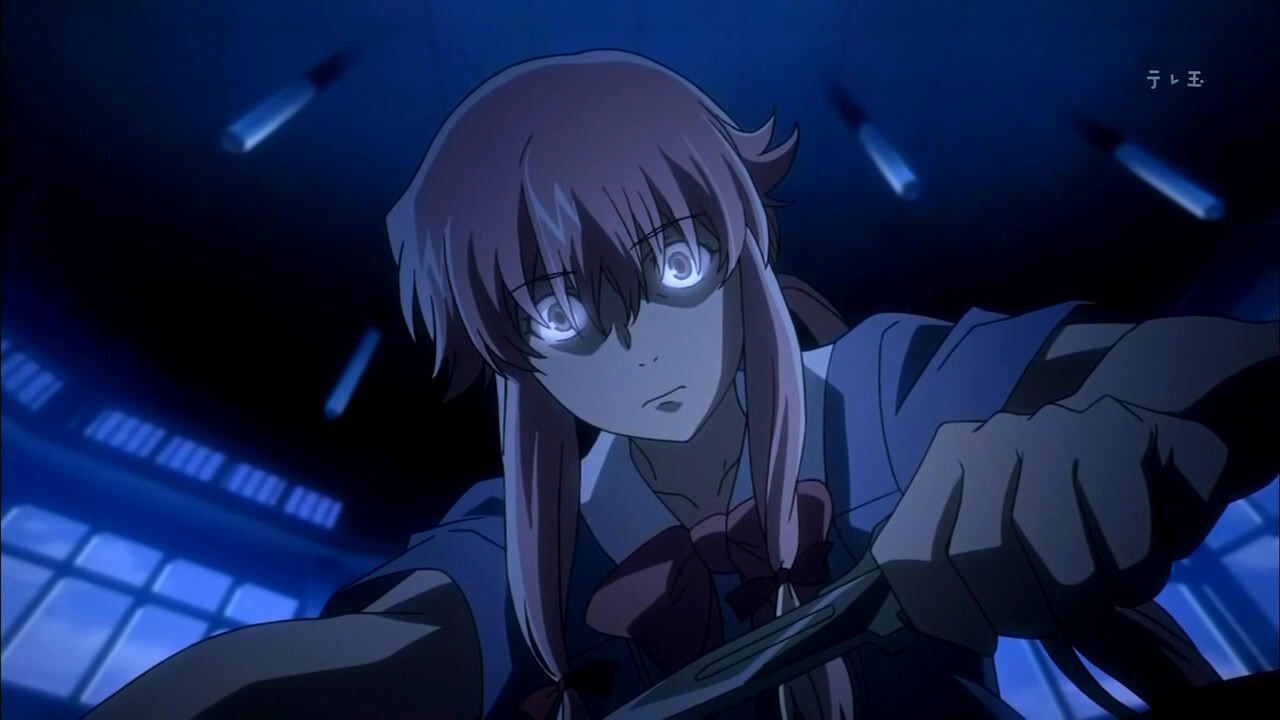 Episode. 9 Blocked Number Yuno Gasai 1 Mirai Nikki Episode 9 [ Subtitle Indonesia ]