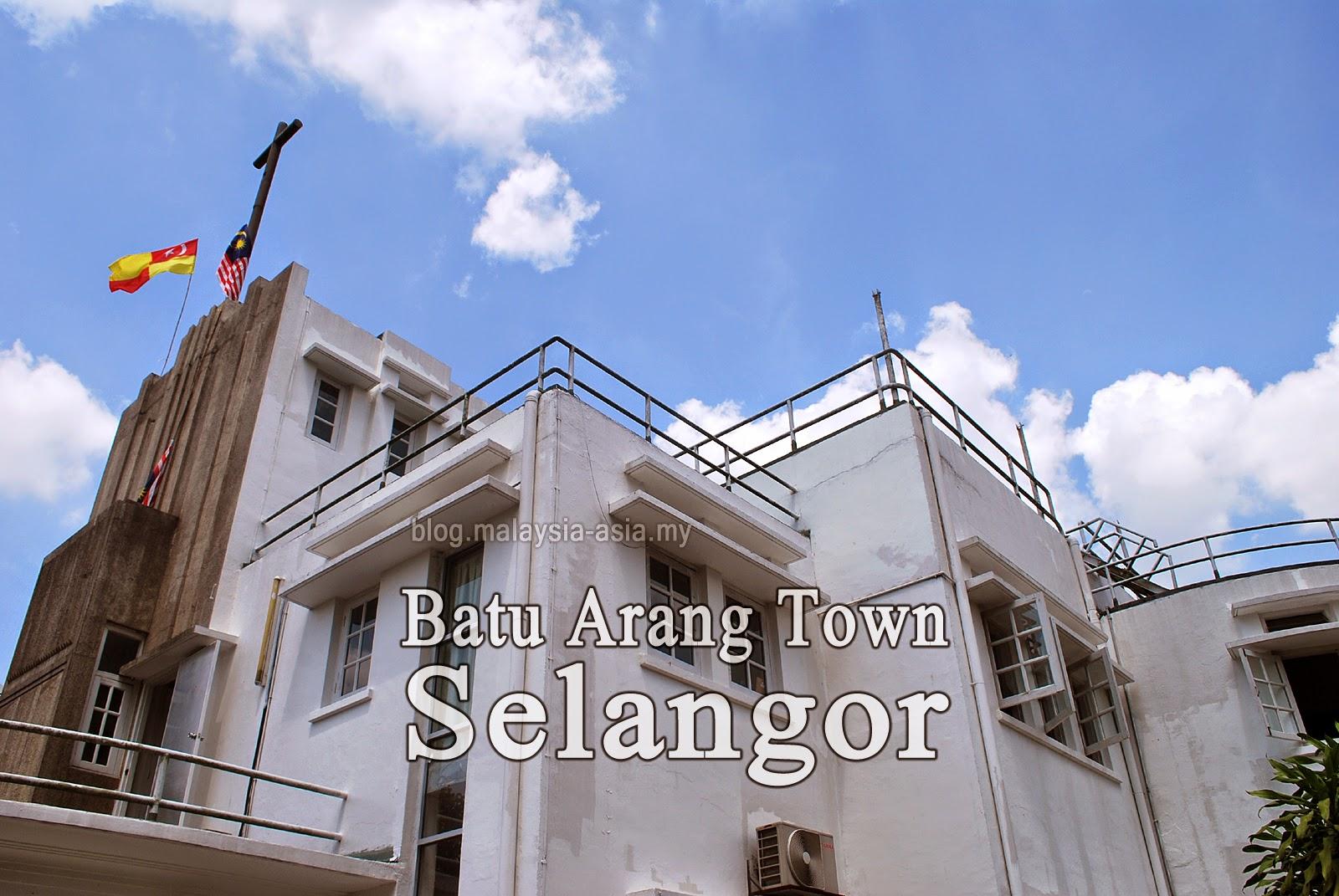 Batu Arang Town in Selangor