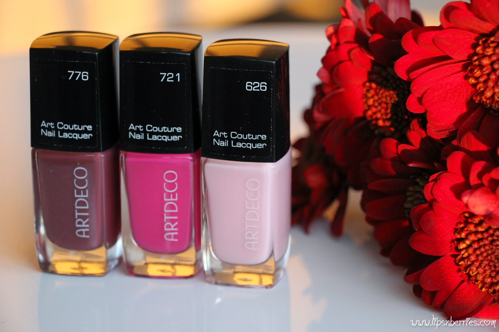 Artdeco Art Couture Nail Lacquer In 626 721 776 Review Notd