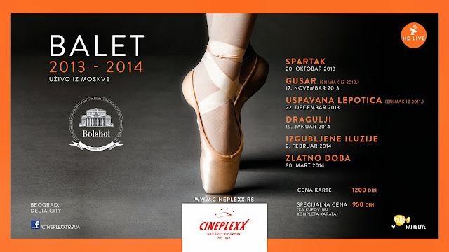 Nova sezona opera i baleta samo u bioskopu Cineplexx