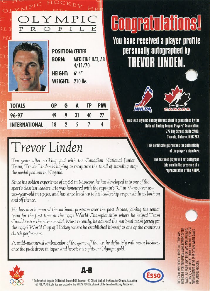 MY HOCKEY CARD OBSESSION: October 2011