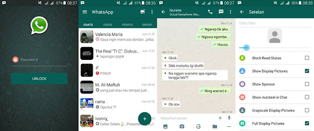Preview BBM Whatsapp - Ardhana Network