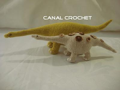 CANAL CROCHET: Dinosaurio amigurumi patrón libre