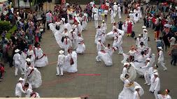 Promueven mediante flash mobs el Festival Folklórico de Veracruz Miguel Vélez Arceo