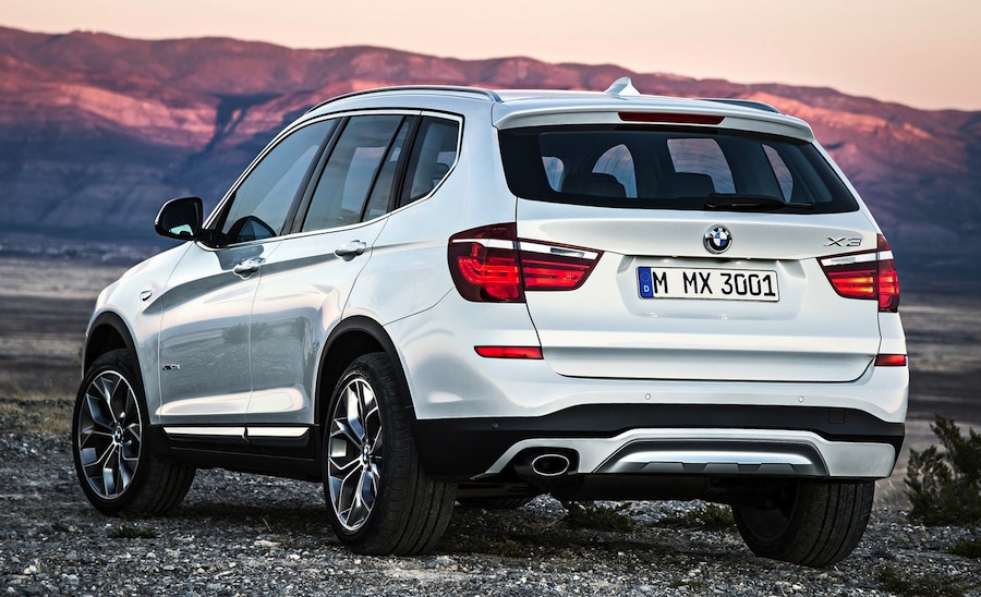 New BMW X3「BMW X3」のリアデザイン。