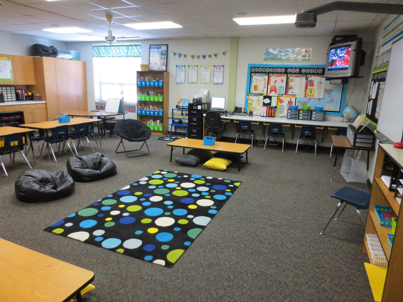 Classroom Seating Ideas Elementary ~ Setting up for second mid year update alternative seating