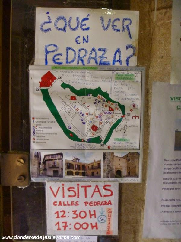 Cartel oficina de turismo