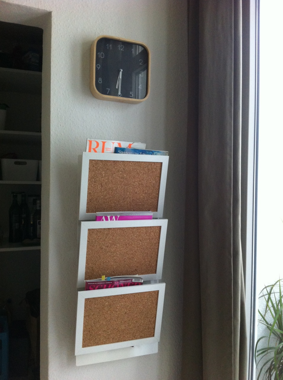 Spontaneous nyttja pin board hack get home decorating for Portariviste ikea