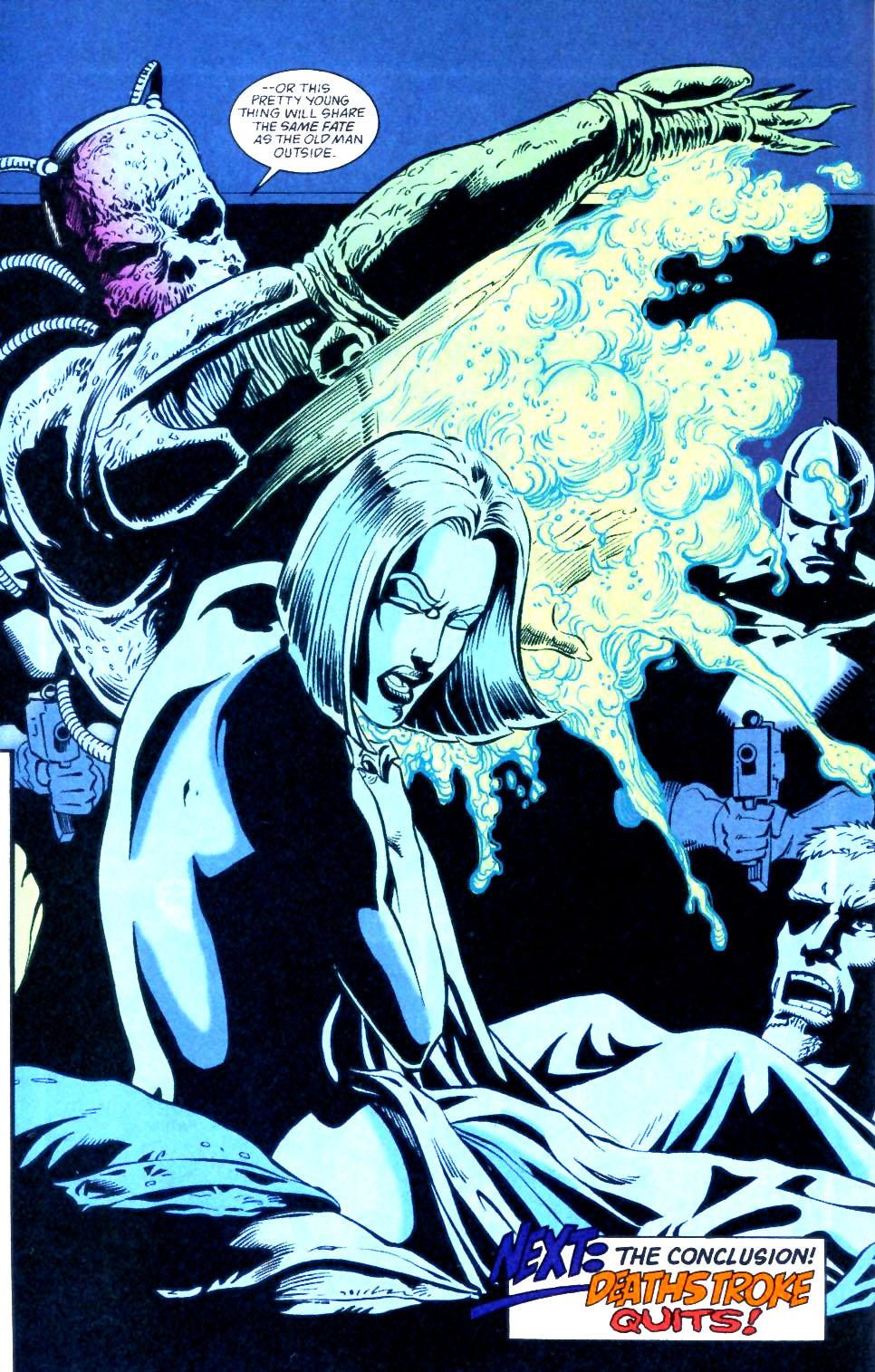 Deathstroke (1991) Issue #56 #61 - English 23