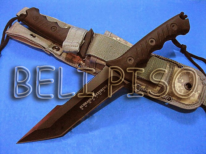 Jual Schrade Jungle Bowie Knife belipiso.com