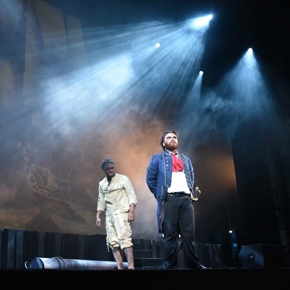 Les Miserables - opening scenes with Javert and Jean Val Jean