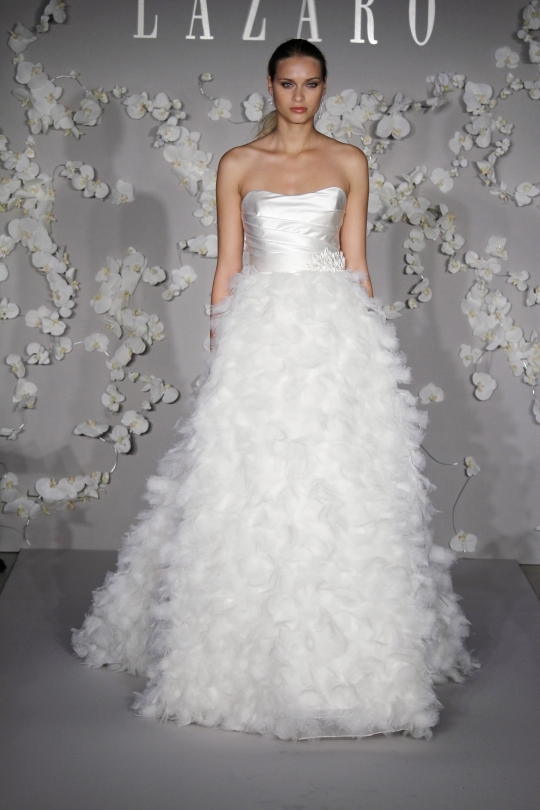 Whether It Is Skirt Wedding Dresses Style Or Short Flashing Pearl And Flowers Will Bring Layering Changing Your Dress