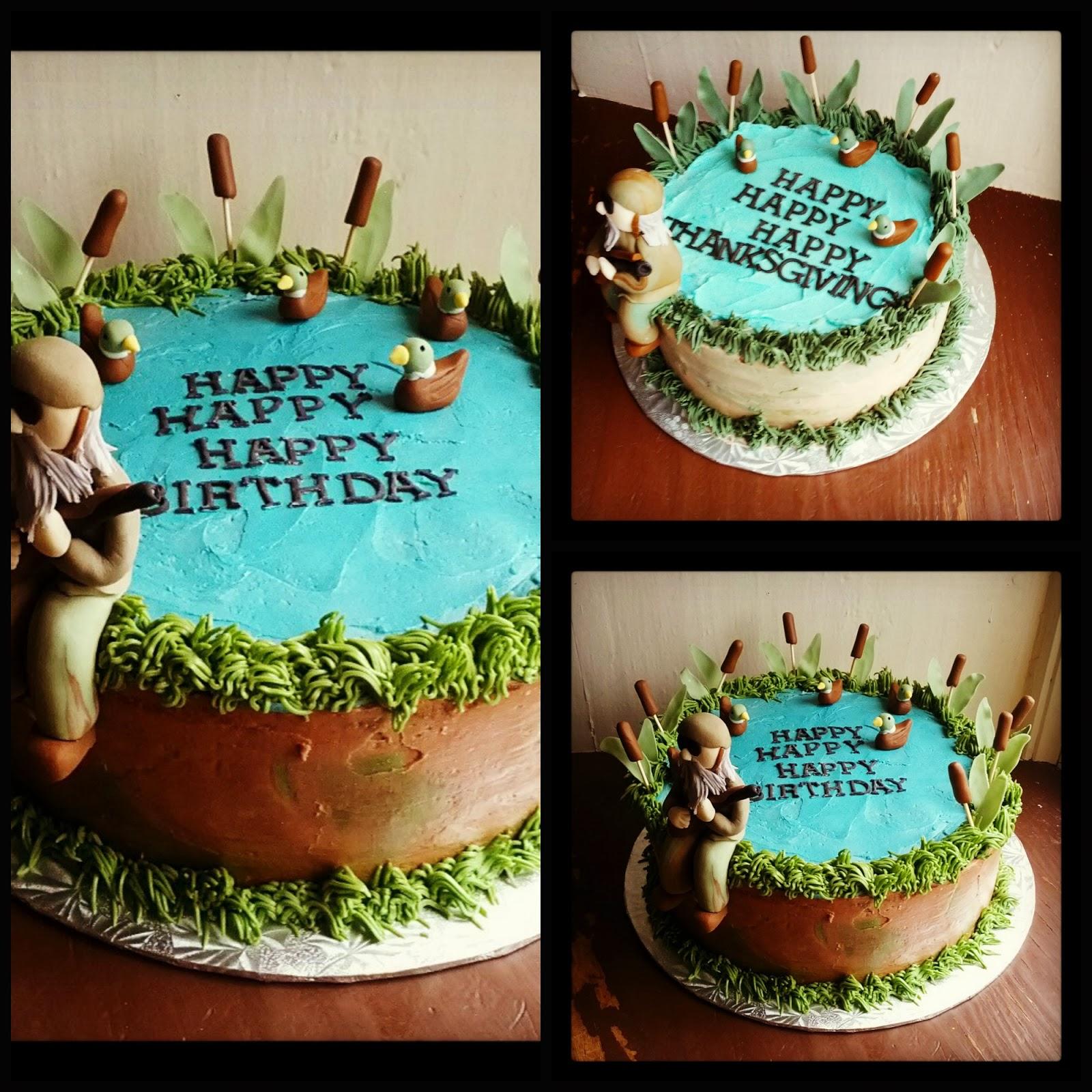 Second Generation Cake Design Duck Dynasty Birthday Cake