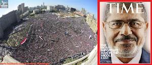 محمد مرسی کاخ ریاست جمهوری را ترک کرد