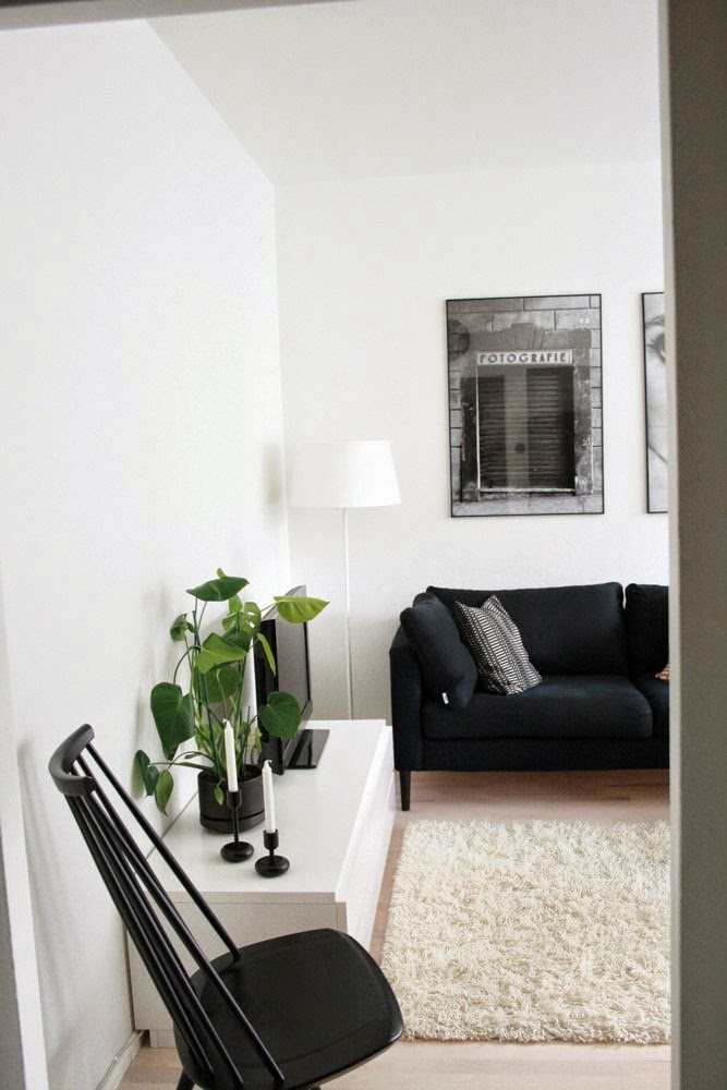 Deco: little appart in black and white
