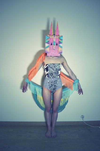 Bohemian Rainbow  Art direction, fashion & textile design, photography, & graphic design