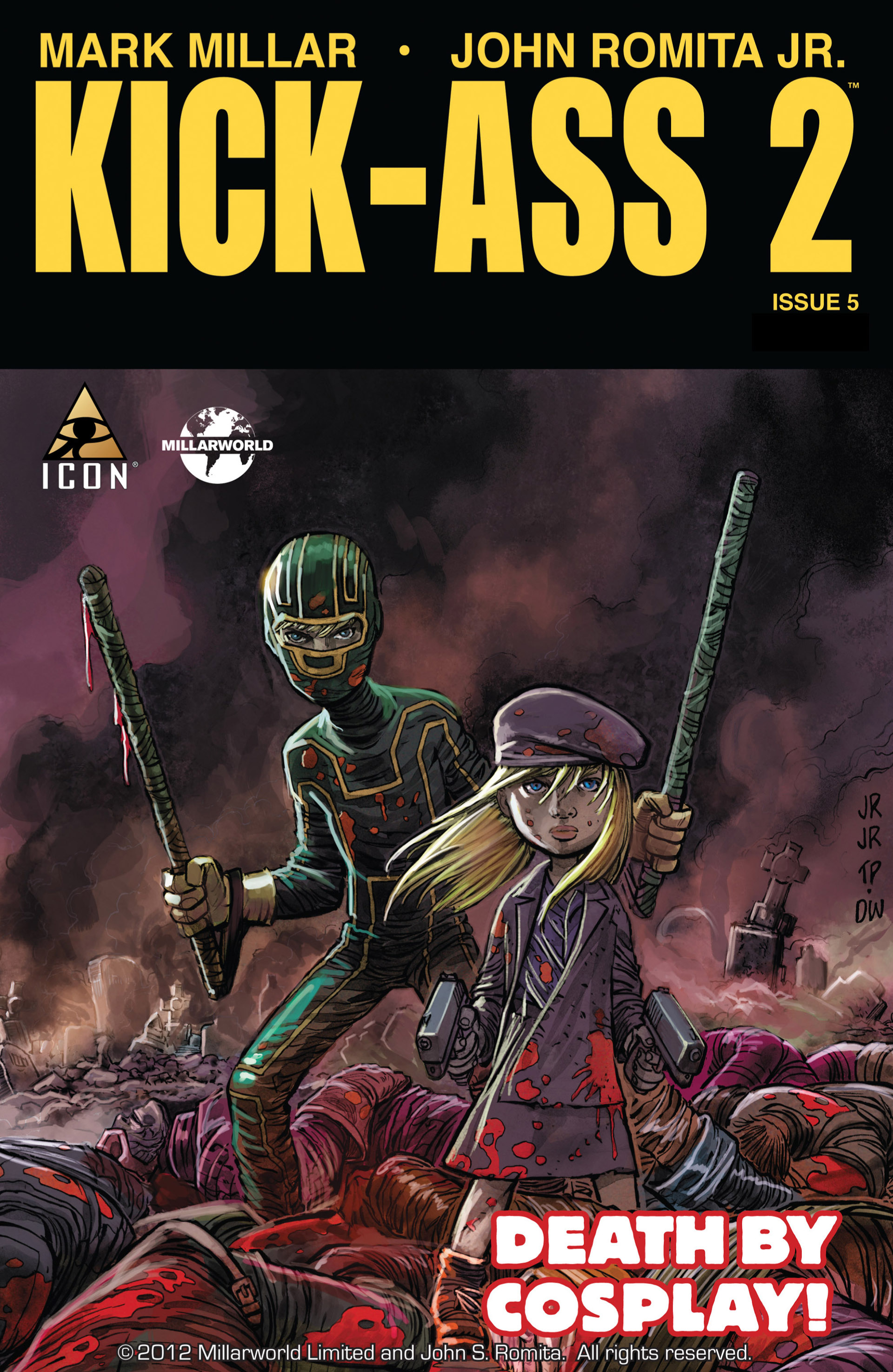 Kick-Ass 2 issue 5 - Page 1