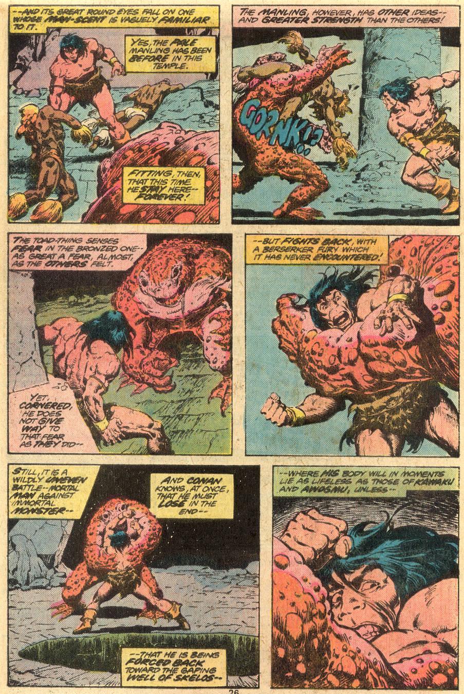 Conan the Barbarian (1970) Issue #73 #85 - English 15