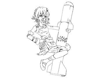 #3 Tiny Tinas Assault Coloring Page