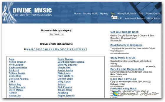 Cara Pasang Autoplay Musik Di Blog 1