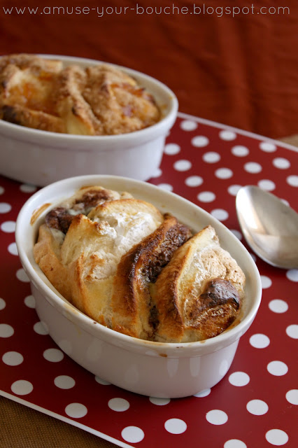 Bread and butter pudding two ways recipe