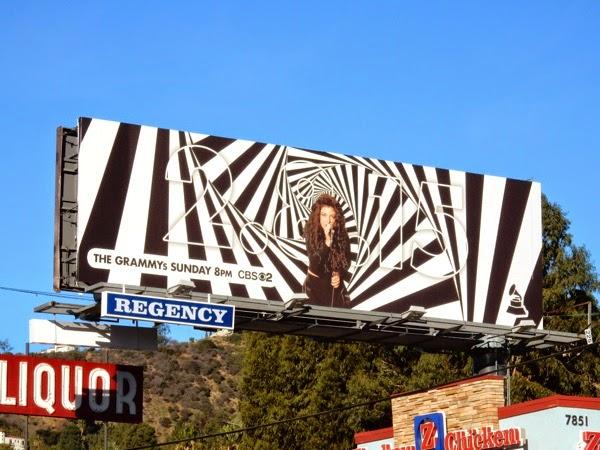 Lorde Grammys 2015 billboard