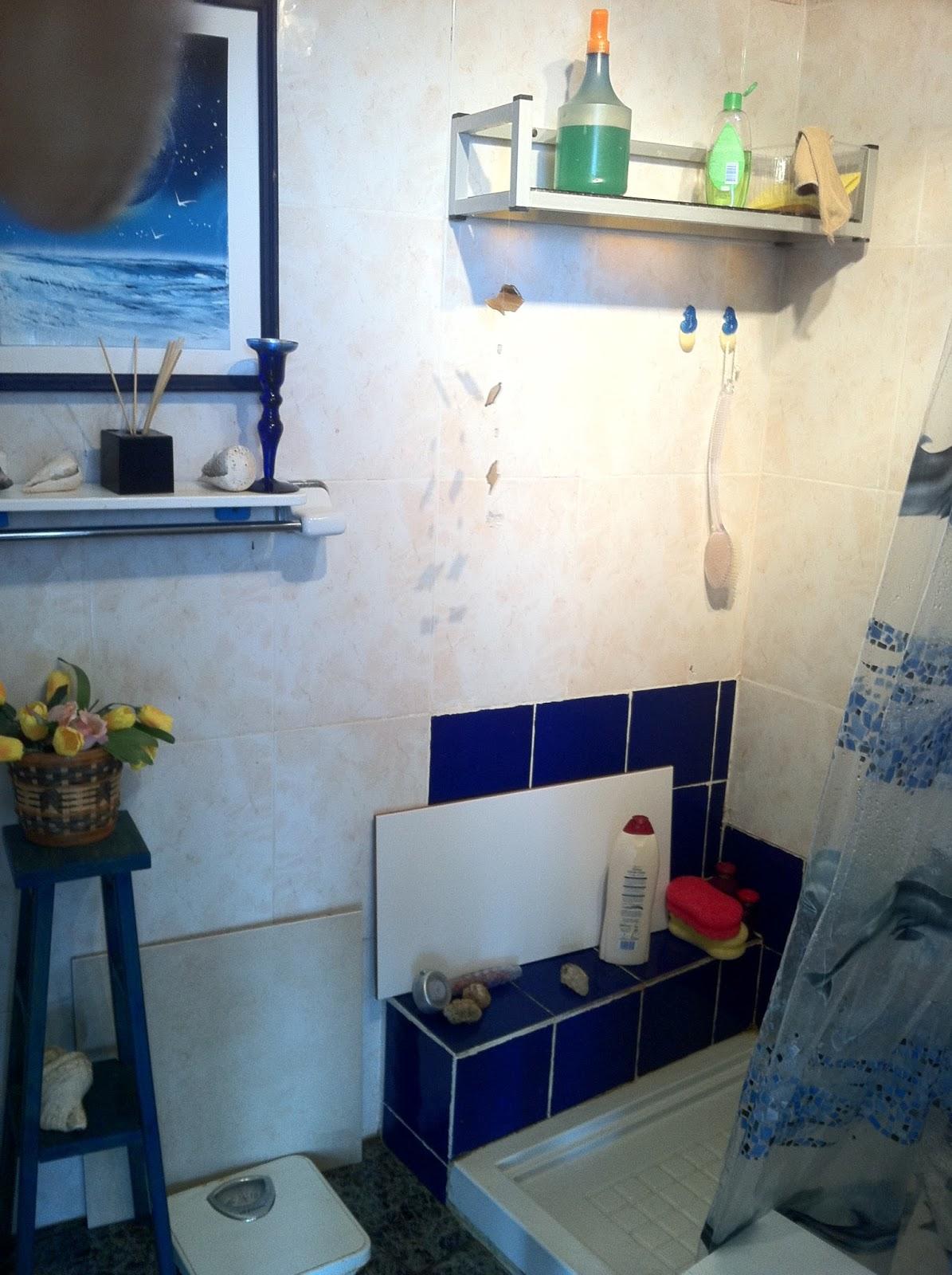 Tatiana doria reforma de un ba o en una casa de la playa - Reforma de un bano ...
