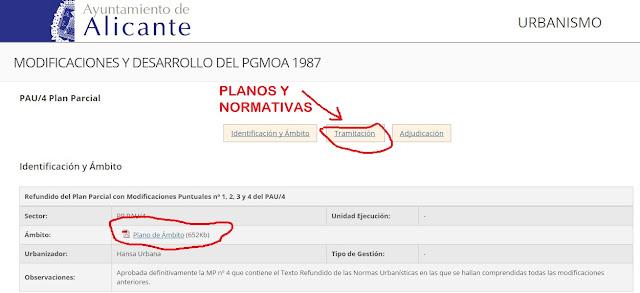 Rc i e s gran v a alicante pr ctica 10 1 2 3 proyecto - Alicante urbanismo ...