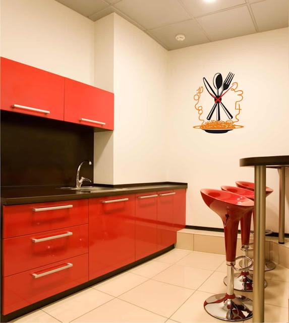 Relojesyvinilos reloj original de cocina - Relojes pared cocina ...