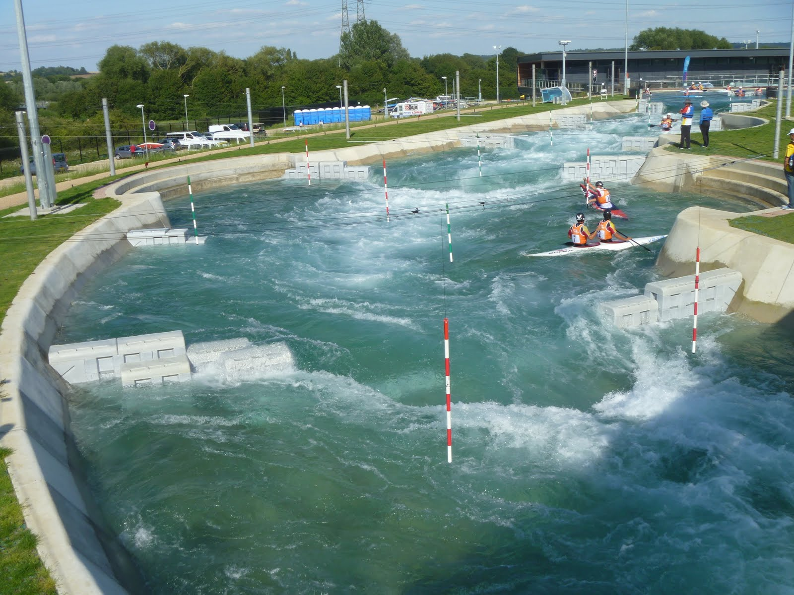 UK Olympic kayaking man-made venue