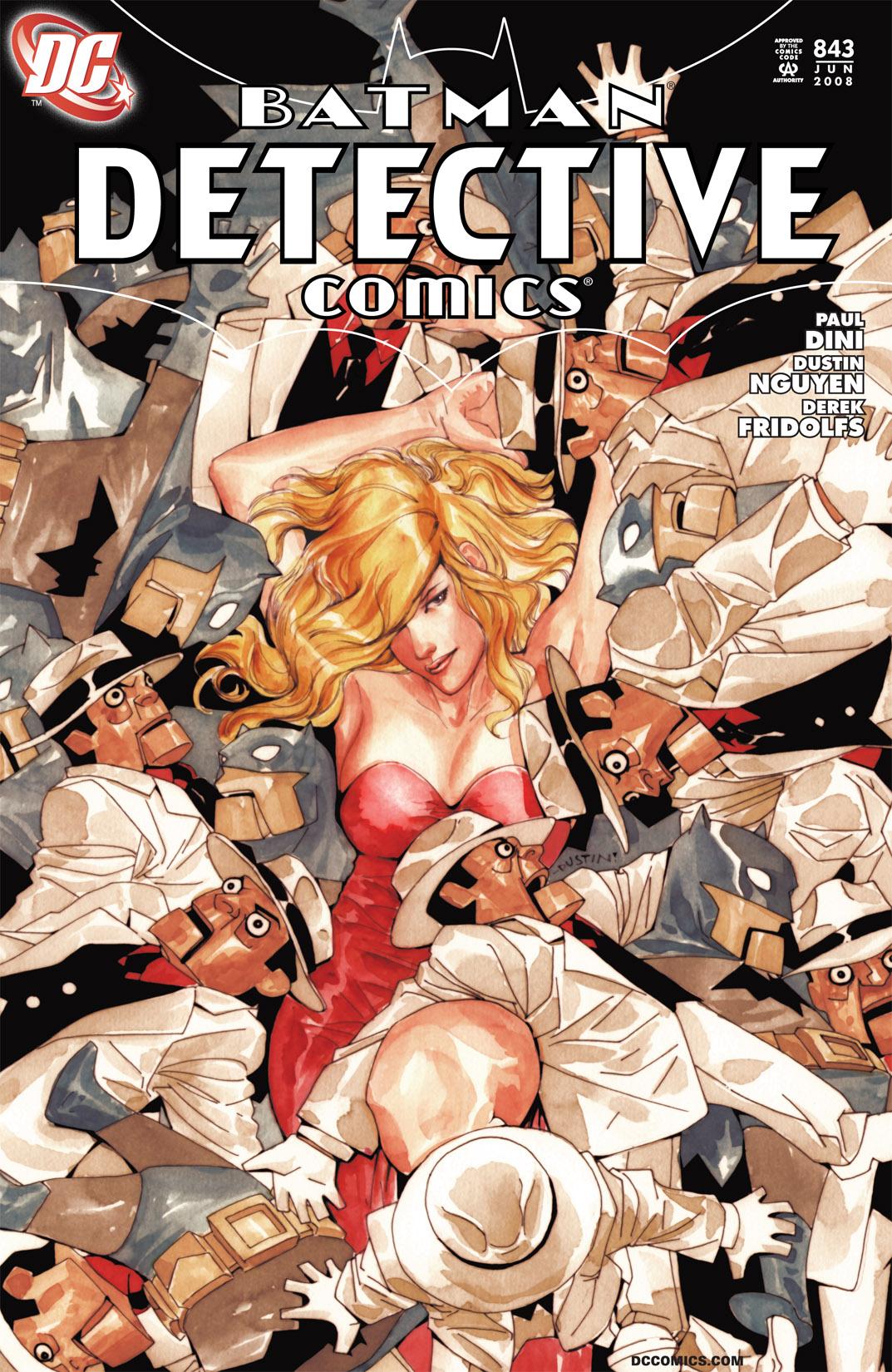 Detective Comics (1937) 843 Page 1