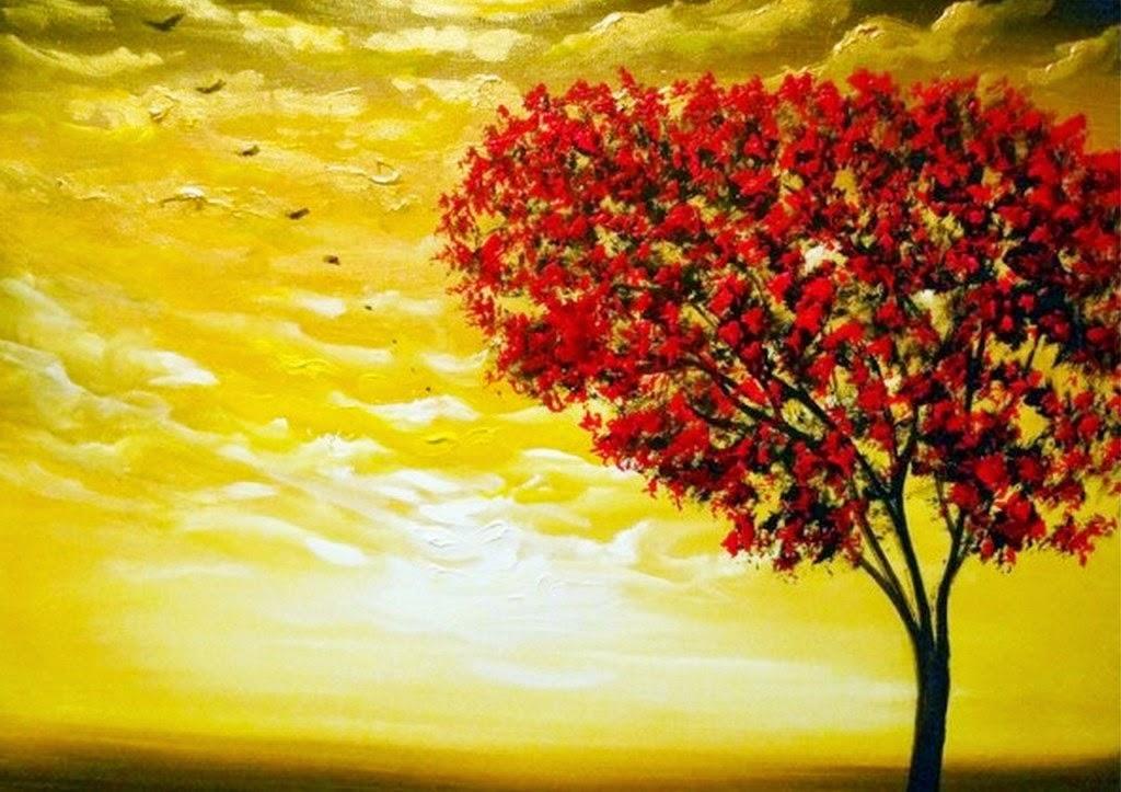 paisajes-fáciles-de-pintar-cuadros-decorativos
