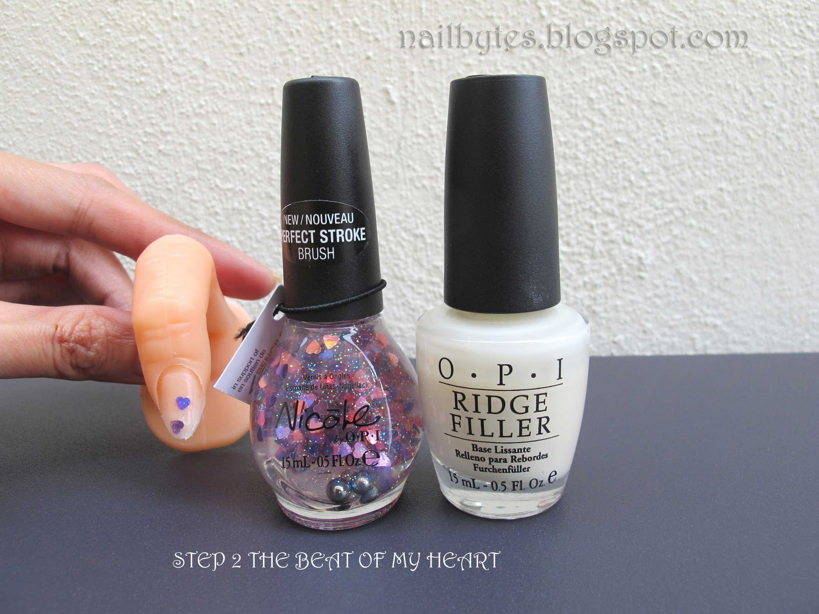 nailbytes: Nicole by OPI Step 2 The Beat Of My Heart