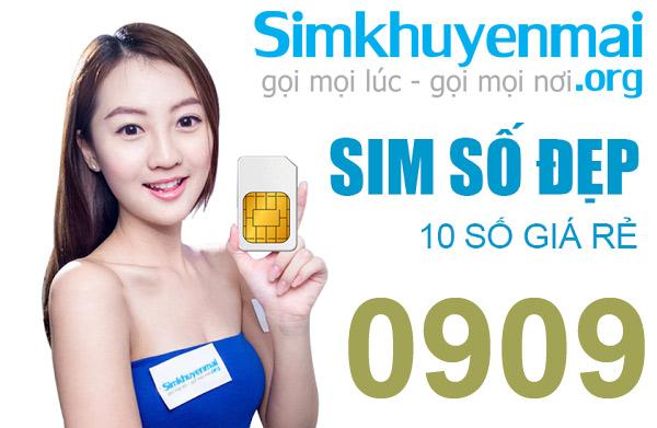 Sim số đẹp 0909, Đầu Sim 0909, bán Mobifone 0908, 0907, 0904