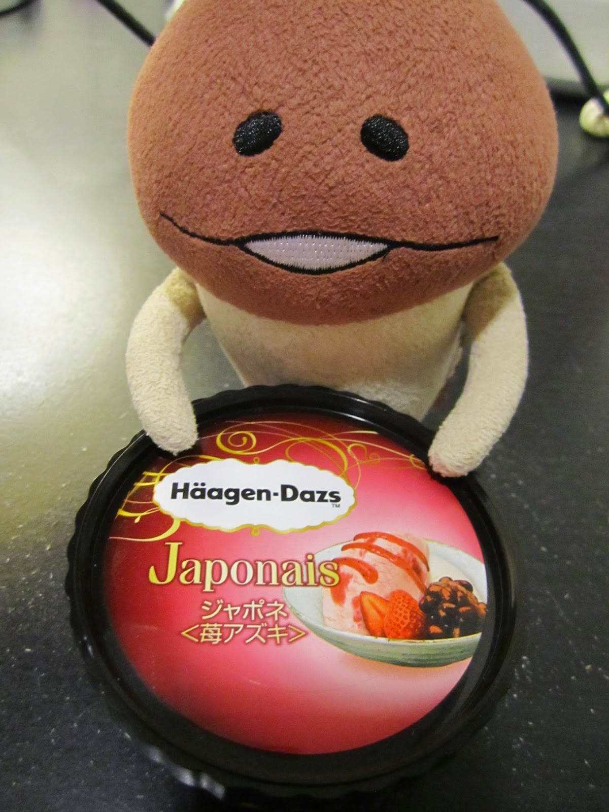 Haagen Dazs Japonais Ichigo Azuki strawberry red bean 7-Eleven limited