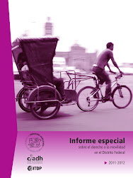 Informe especial sobre el derecho a la movilidad en el Distrito Federal