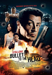 'Bullet to the Head' movie promo art