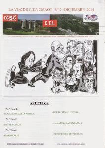 Revista nº2 de la Sección Sindical de C.T.A. en la Consejería de Medio Ambiente y Ordenación del Te