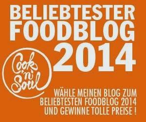 Wahl zum beliebtesten Foodblog 2014