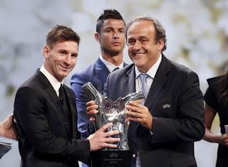 Messi UEFA 2015