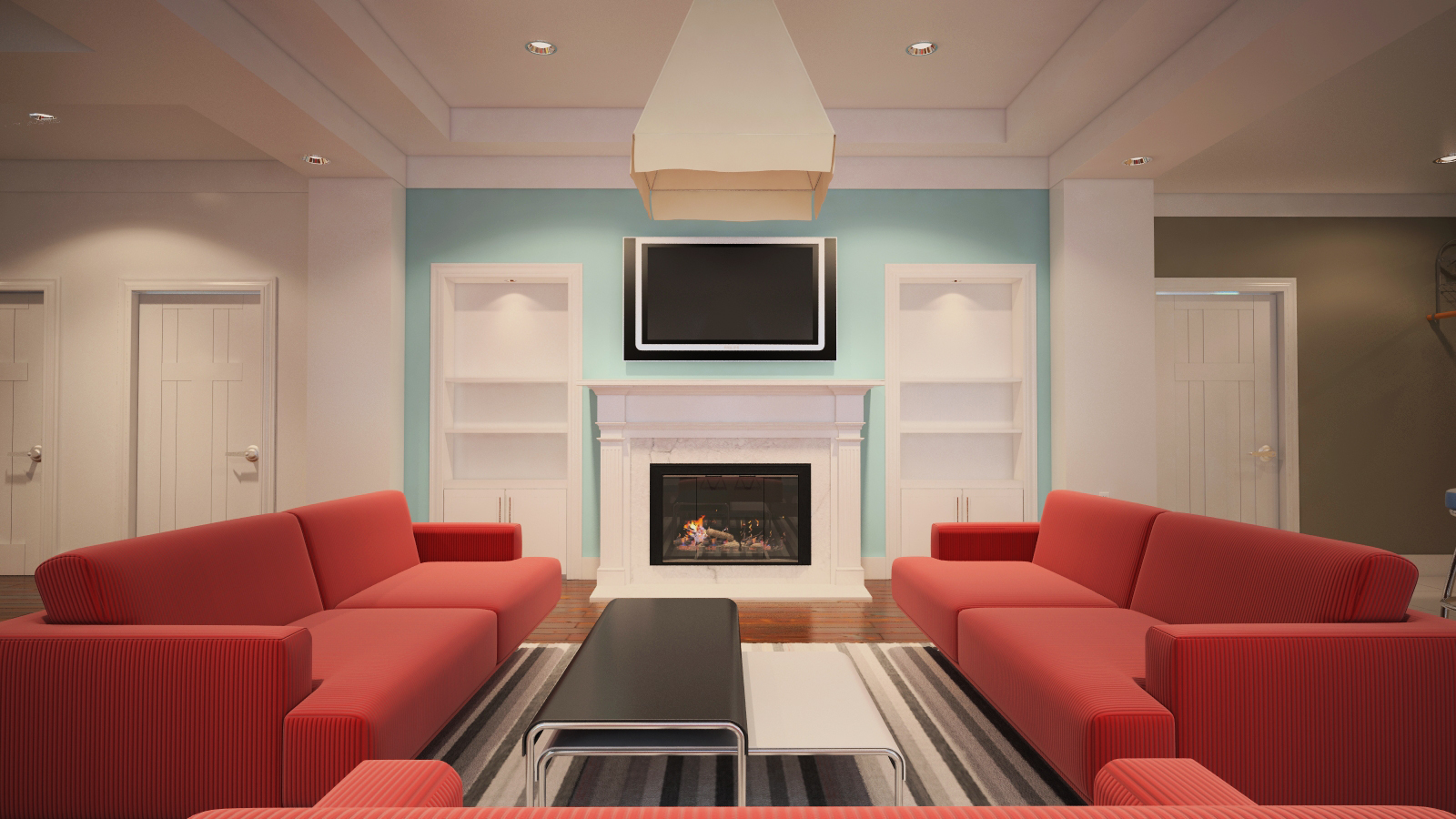 J arch designs updated penthouse interior for Interior arch designs