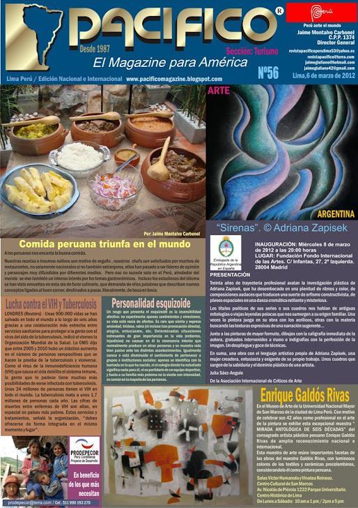 Revista Pacífico Nº 56 Turismo