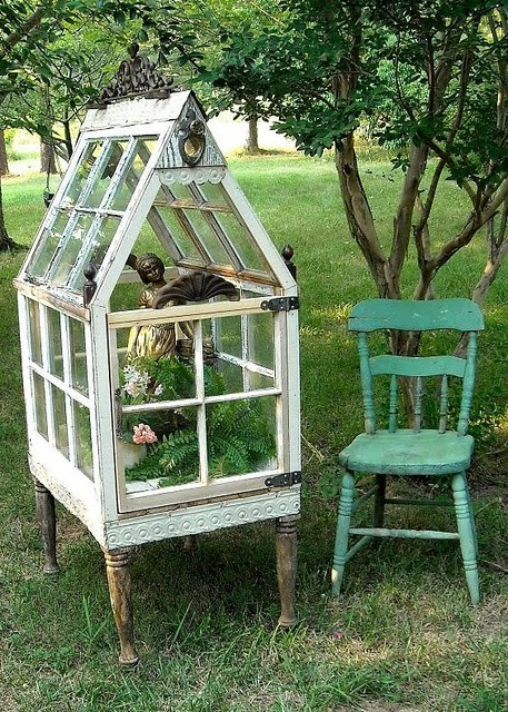 The Art Of Up Cycling DIY Greenhouses Build A Green