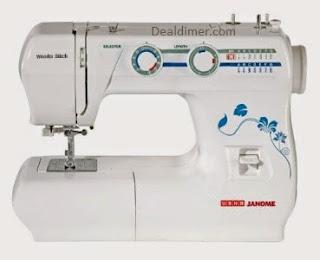 Usha Janome Sewing Machines upto 22% off