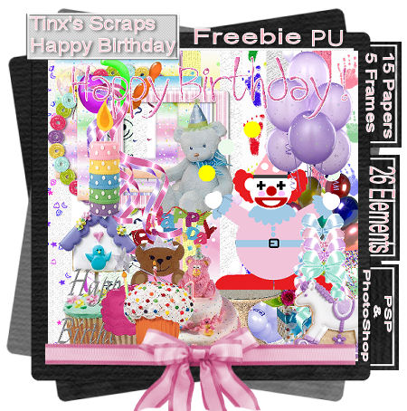 Happy Birthday Freebie