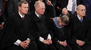 Supreme Court Sleeping