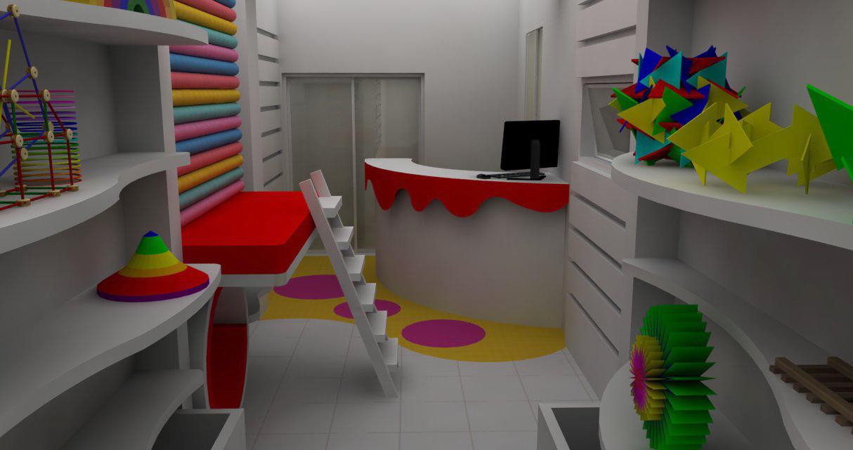 curso de decoracao de interiores em uberlandia: , Paisagismo: Loja de Brinquedos em Uberlândia/MG confira