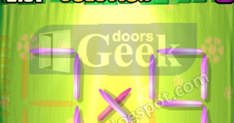Matches puzzle episode 2 level 57 solution doors geek for 16 door puzzle solution