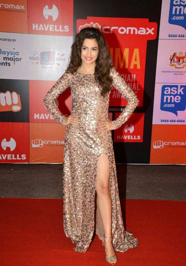 Actress Kriti Kharbanda At SIIMA Awards 2014