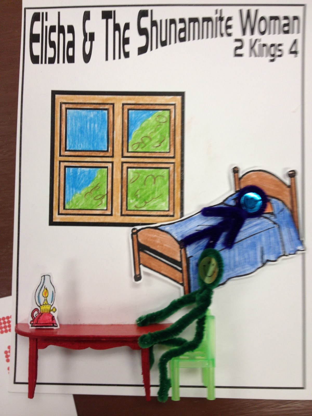 A Room For Elisha Craft